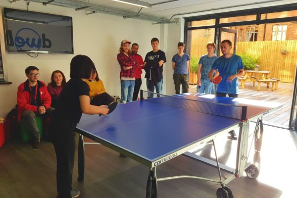 Table tennis tournament in dwell MSV, the United Kingdom